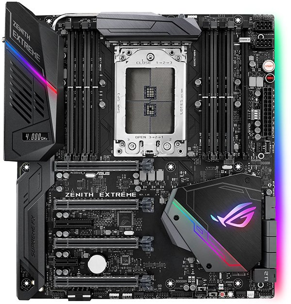 ASUS ROG ZENITH EXTREME TR4 X399 Mainboard